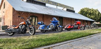 2017 Victory Motorcycles lineup