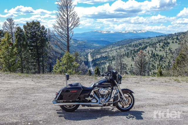 Highway 279 to Flesher Pass is a great example of a secret highway, offering a stunning view of the mountains, valleys and road below. (Photos: the author)