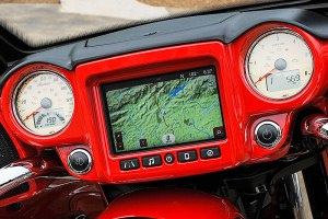 Ride Command System navigation display
