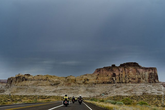 Summer thunderstorms threaten in the Utah desert. (Photo: Christina Shook)