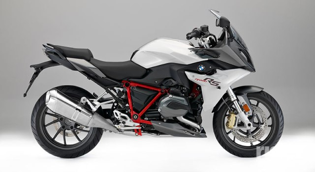 "2017 BMW R 1200 RS in ""R 1200 RS Sport"" color scheme."