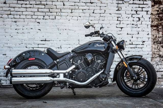 2017 Indian Scout Sixty in Thunder Black