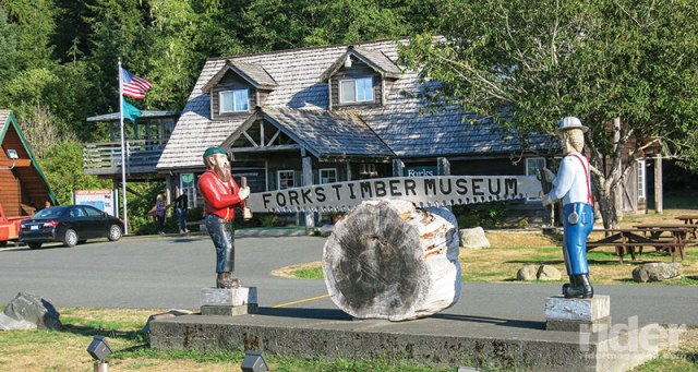 The Timber Museum in Forks, on the west side of the Olympic Peninsula, gives a great insight into the rough life that the lumberjacks had in years past, and still do today.