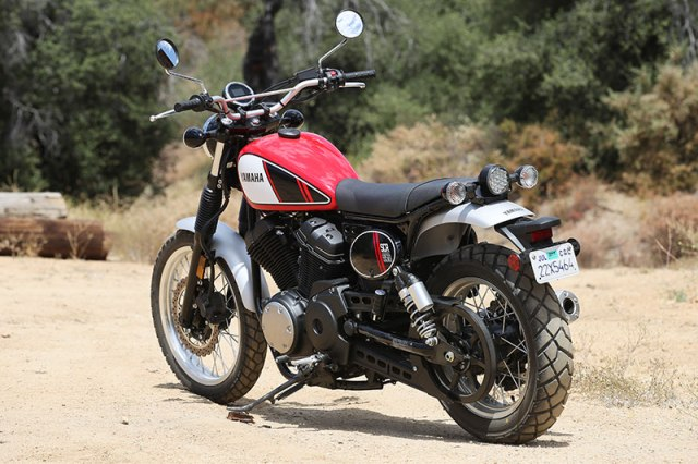 The SCR950 talks the talk and mostly walks the walk as a scrambler, though it has some built-in limitations.
