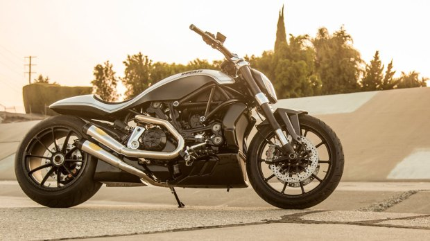 Roland Sands customized Ducati XDiavel