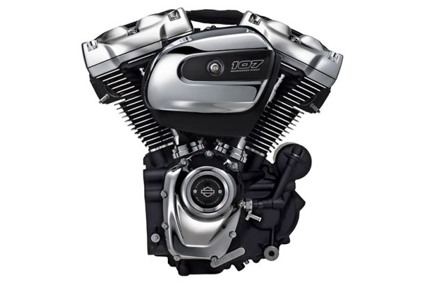 The Milwaukee-Eight 107 is the ninth generation of Harley-Davidson's Big Twin line. It has Harley's iconic look, sound and feel but has been thoroughly modernized.