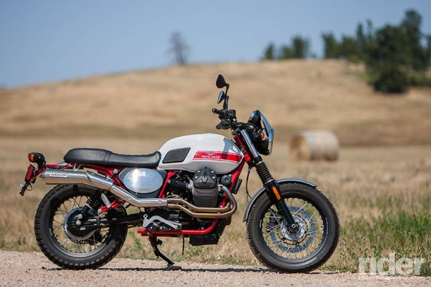 The 2016 Moto Guzzi V7 II Stornello is one fun ride. (Photos: Evans Brasfield)