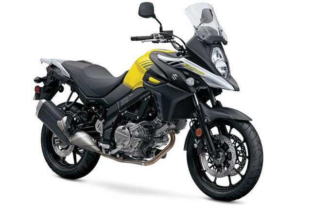 Suzuki's popular middleweight adventure tourer, the V-Strom 650, has been thoroughly redesigned for 2017, with new styling, an updated engine, new traction control and much more.