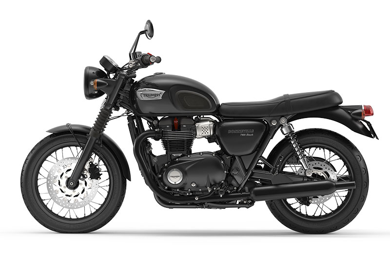 2017 Triumph Bonneville T100 and T100 Black | First Look ...