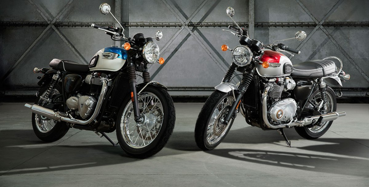 2017 Triumph Bonneville T100 and T100 Black | First Look Review | Rider Magazine