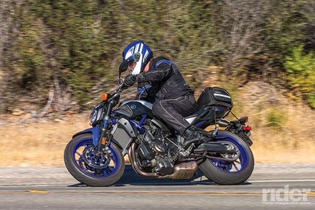 The feisty FZ-07 might be even more fun than its big brother, the FZ-09.
