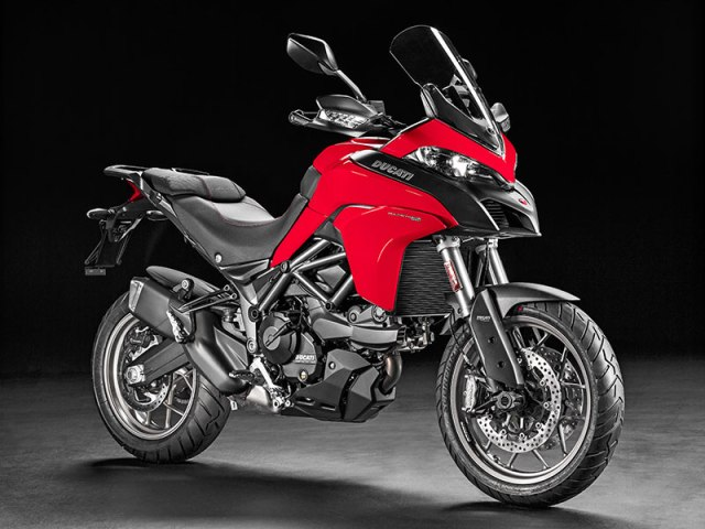 The 2017 Multistrada 950 is a more accessible and affordable version of Ducati's adventure bike, with a smaller-displacement engine and fewer technological bells and whistles.
