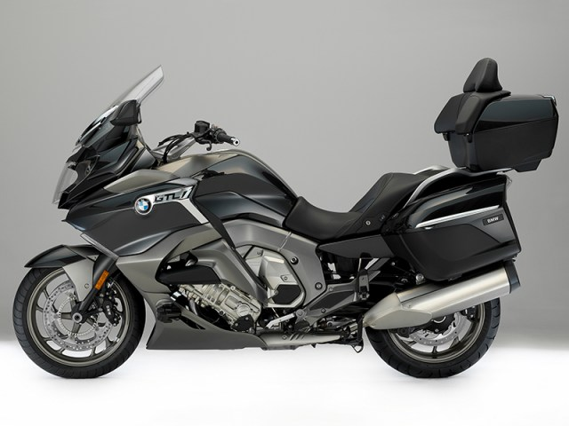 Styling updates for the 2017 BMW K 1600 GTL include new/redesigned trim panels, wind deflectors and lower storage compartments.