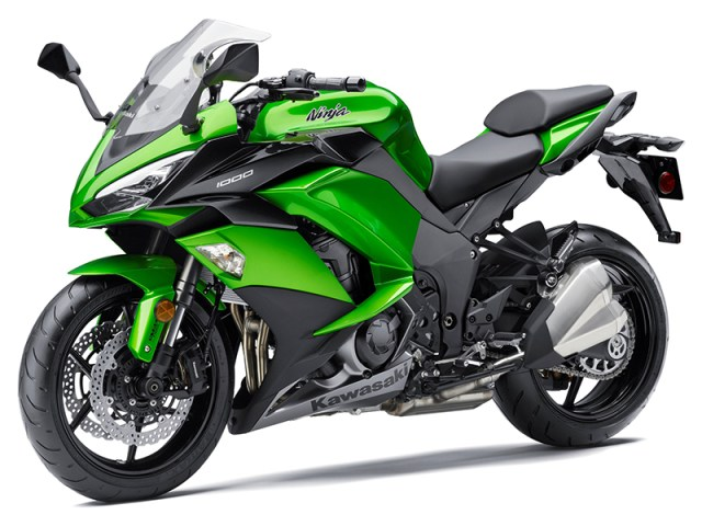Updates to the Kawasaki Ninja 1000 ABS for 2017 include new electronics, improved wind protection and comfort, and revised styling and instrumentation.