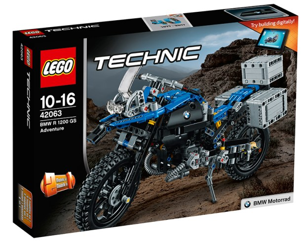 LEGO Technic BMW R 1200 GS. (Photos: BMW)