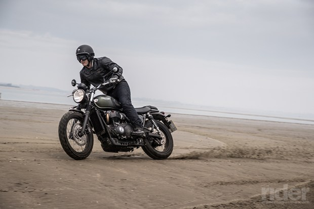 Triumph's 2017 Street Scrambler invites you to unleash your inner Steve McQueen. (Photos: Triumph Motorcycles)