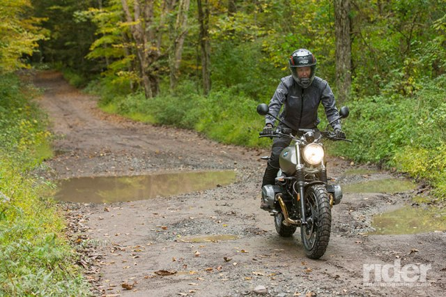 The Scrambler carries 36 years' worth of BMW GS off-road DNA. (Photo: Kevin Wing)