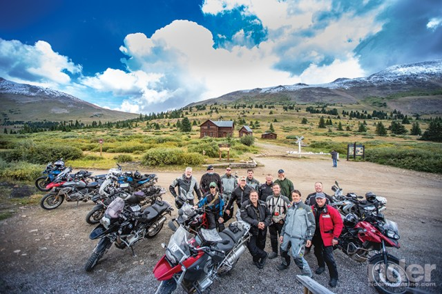 Boreas Pass, at a modest 11,481 feet, is on a very accessible dirt road running over the Continental Divide between Breckenridge and Como.