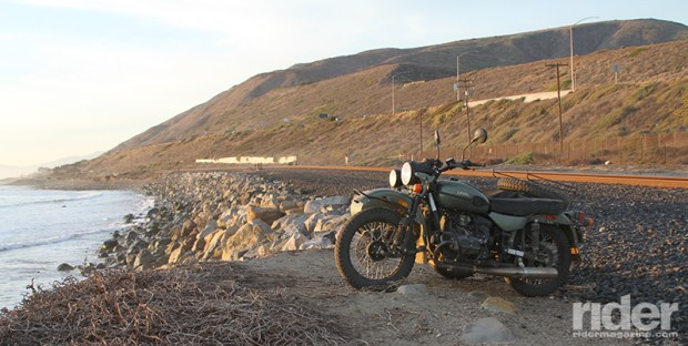 The Ural faithfully carried me—and three riders' worth of gear—on Interstates, dirt roads, Jeep trails and rocky paths.