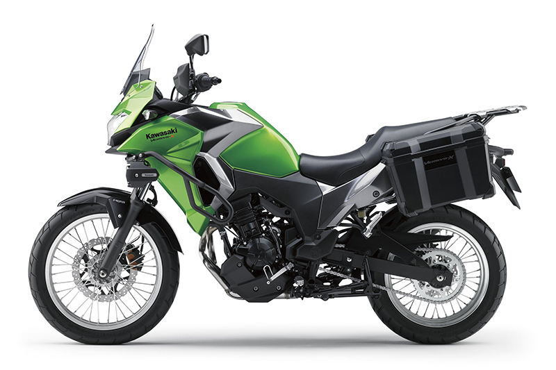 kawasaki announces pricing, accessories for the 2017 versys-x 300