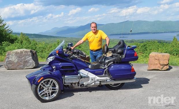 Motor Trike Prowler RT reverse trike