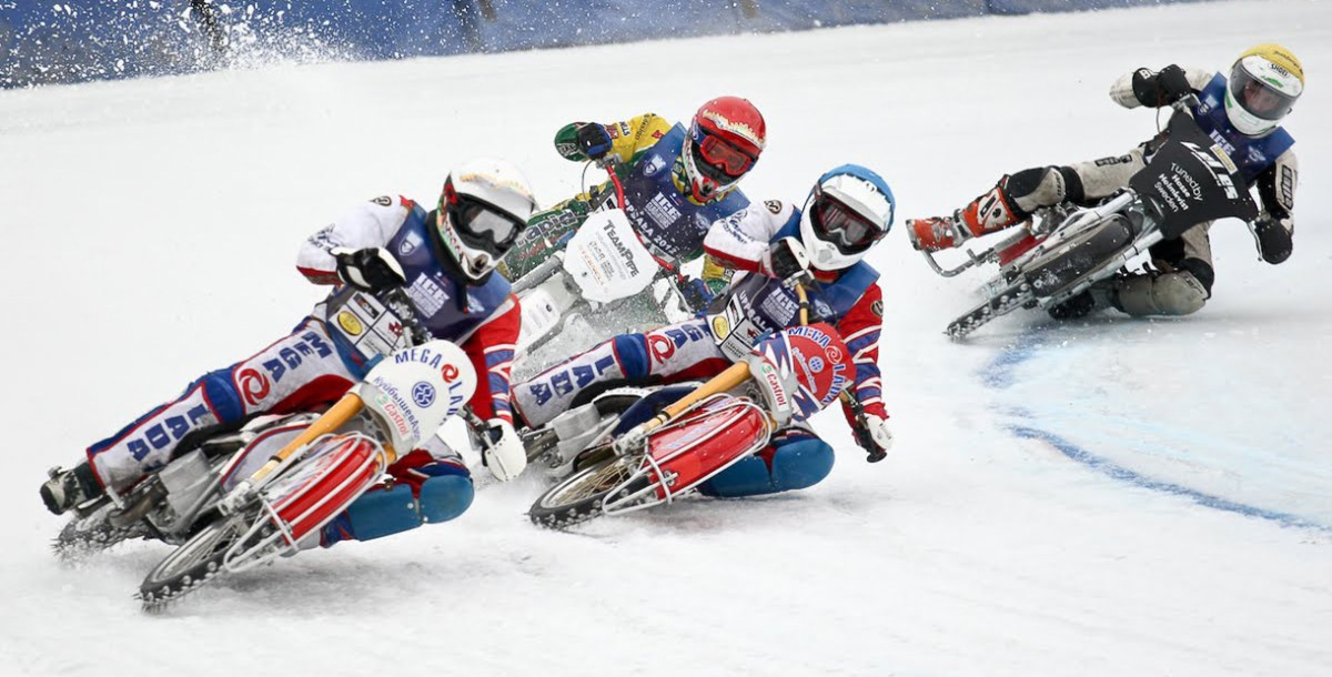 A Brief History Of Motorcycle Ice Racing Rider Magazine