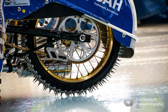 Ice Speedway studded tires
