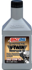 Amsoil Synthetic V-Twin oil