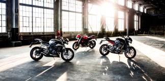 2017 Triumph Street Triple S, R and RS.