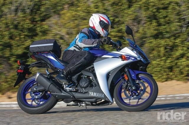 Yamaha R3 touring