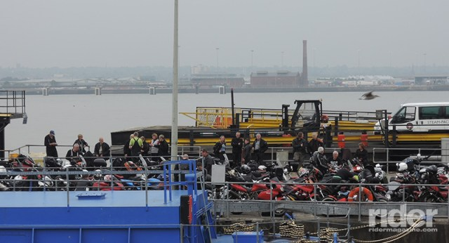 """On the """"ferry 'cross the Mersey"""" in Liverpool. (Photos by the author)"""