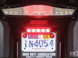 The Billie Brake Light features super bright, attention-getting red LEDs you can program for a range of flashing modes, inertial braking and more.