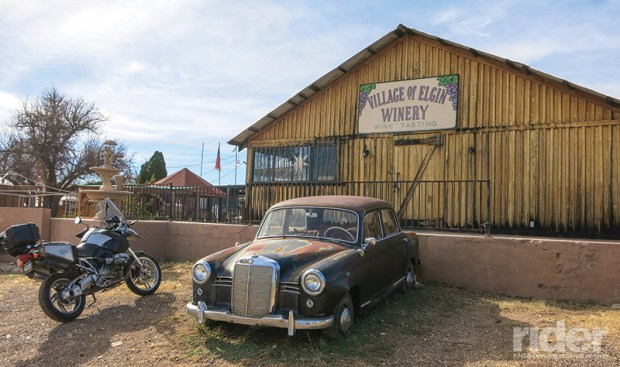 Small wineries dot the roads in southeastern Arizona, and that Mercedes is aging like a fine cabernet.
