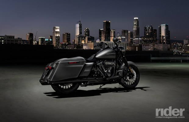 The 2017 Road King Special in Charcoal Denim.
