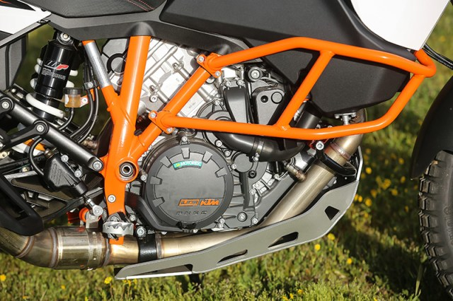 2017 KTM 1090 Adventure R engine guards