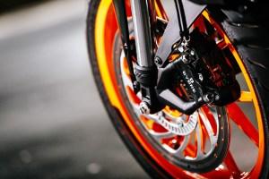2017 KTM 390 Duke wheel brake