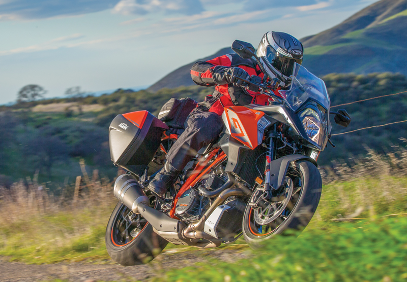 2017 ktm super duke gt - long-term test | rider magazine