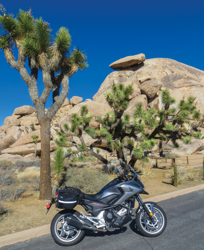 2018 honda nc700x dct. Interesting Dct Honda NC700X A Small Sample Of The Scenery In Joshua Tree National Park  Parked Front Some Its Namesake Yuccas And Cap Rock One Dozens  Inside 2018 Honda Nc700x Dct