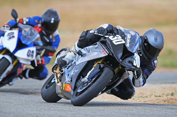 Students at Keith Code's California Superbike School