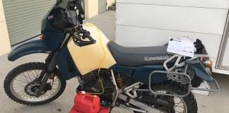 Kawasaki KLR650 fuel tank drain