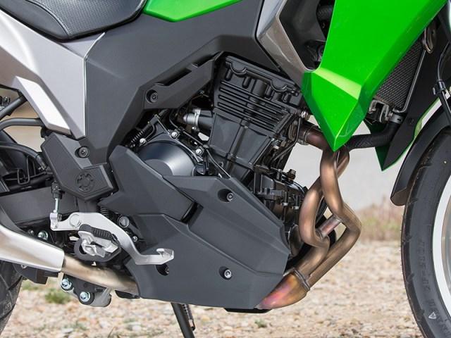 2017 Kawasaki Versys-X 300 engine