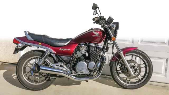 1983 Honda CB650SC Nighthawk