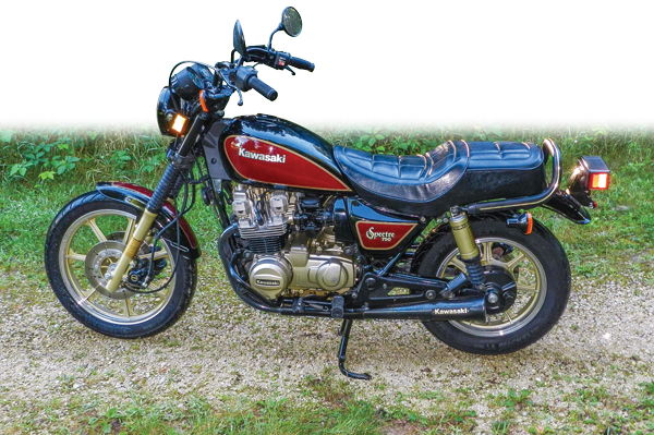 1982 Kawasaki KZ750N Spectre.