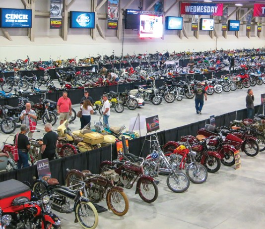 Bonhams and Mecum Motorcycle Auction