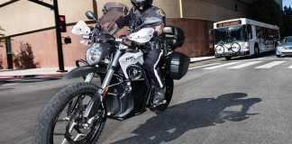 Zero DSR electric bike with police package. Images courtesy of Zero Motorcycles.