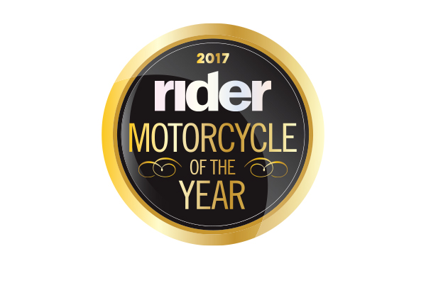 Rider Magazine's 2017 Motorcycle of the Year.