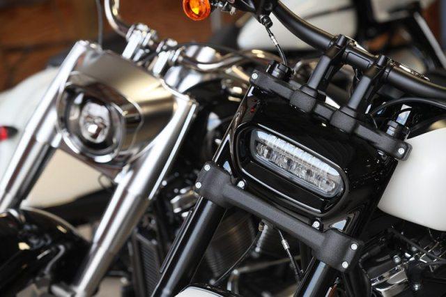Softail headlights