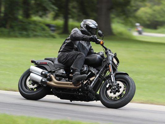 2018 Harley-Davidson Fat Bob.