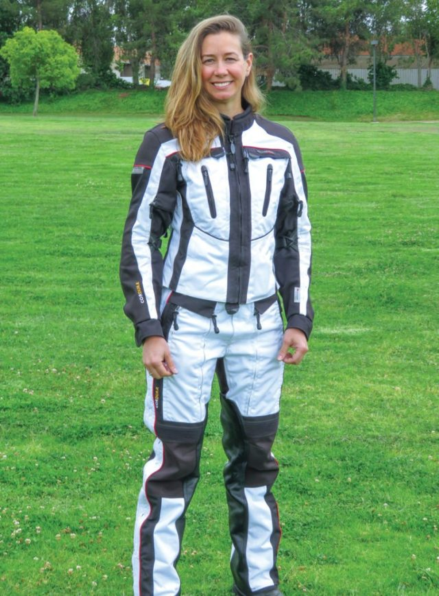 Olympia Expedition women's riding suit.
