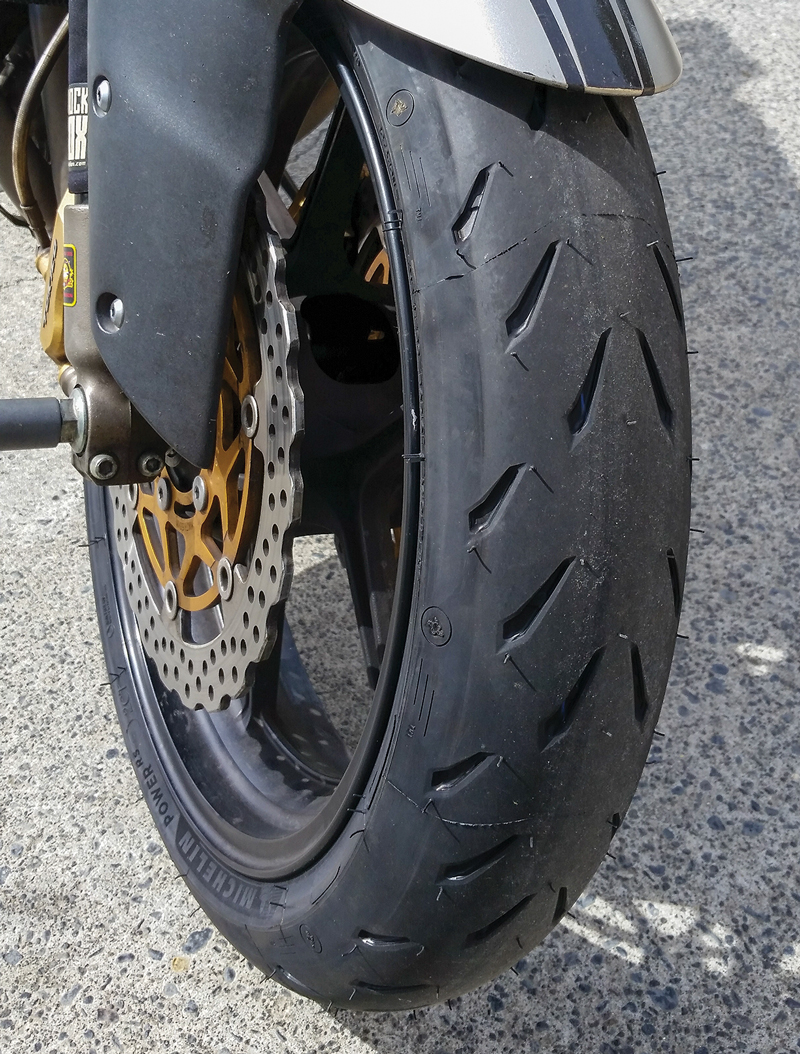 michelin power rs tires review rider magazine. Black Bedroom Furniture Sets. Home Design Ideas